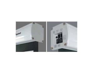 Pantalla electrica Optoma DE1123EGA Tipo 16:10 de 123″ pulgadas.