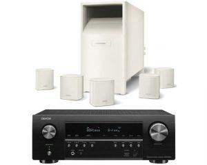 DENON AVR-S750+Bose AM-6V Blancos