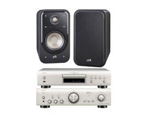 DENON PMA 800N + DCD 800 N + POLK AUDIO S 20EN