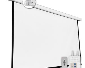 PANTALLA ELECTRICA VIDEOPROYECTOR PARED Y TECHO 100»  2M X 1.5 M
