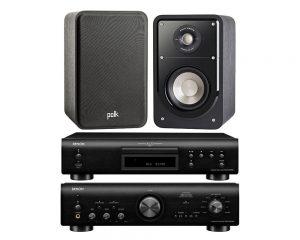 DENON PMA 800N  + DCD 800 N  + POLK AUDIO  S 15EN