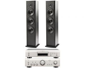 DENON PMA 800N + DCD 800 N + POLK AUDIO T50N