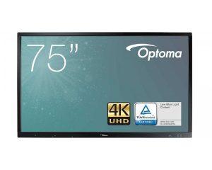 Pantalla interactiva Optoma de 75″ modelo OP751RKe
